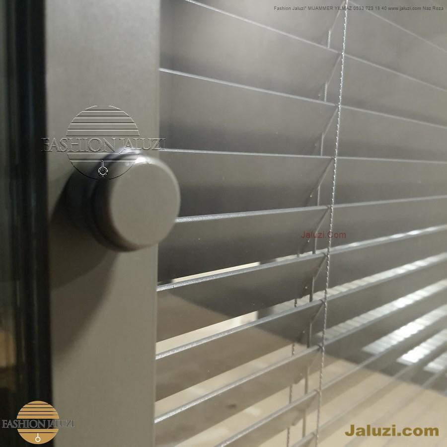 0 butonlu jaluzi perde buton düğmeli iki cam arası ısıcam ofis bölme perdesi ahşap 25mm 35mm 50 mm bölme motor motorlu ipli zincirli metal alüminyum jaluzi button
