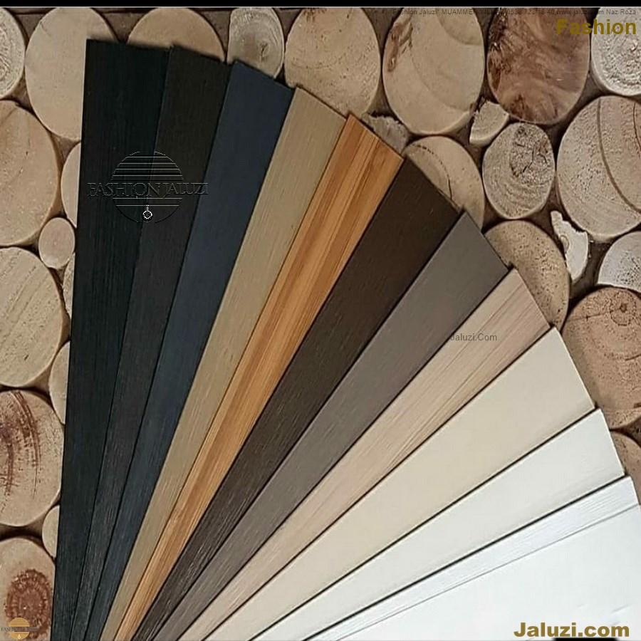 ahşap jaluzi fon perde modelleri ahşap jaluzi modelleri ev ofis kumaş perde tül jaluzi kenar süs perde wood blinds turkey (12)