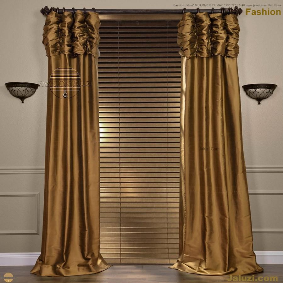 ahşap jaluzi fon perde modelleri ahşap jaluzi modelleri ev ofis kumaş perde tül jaluzi kenar süs perde wood blinds turkey (2)
