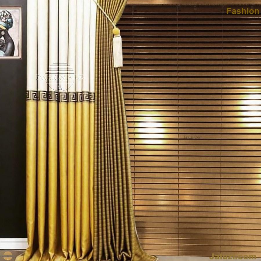 ahşap jaluzi fon perde modelleri ahşap jaluzi modelleri ev ofis kumaş perde tül jaluzi kenar süs perde wood blinds turkey (24)