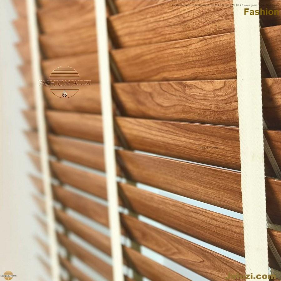 ahşap jaluzi fon perde modelleri ahşap jaluzi modelleri ev ofis kumaş perde tül jaluzi kenar süs perde wood blinds turkey (4)