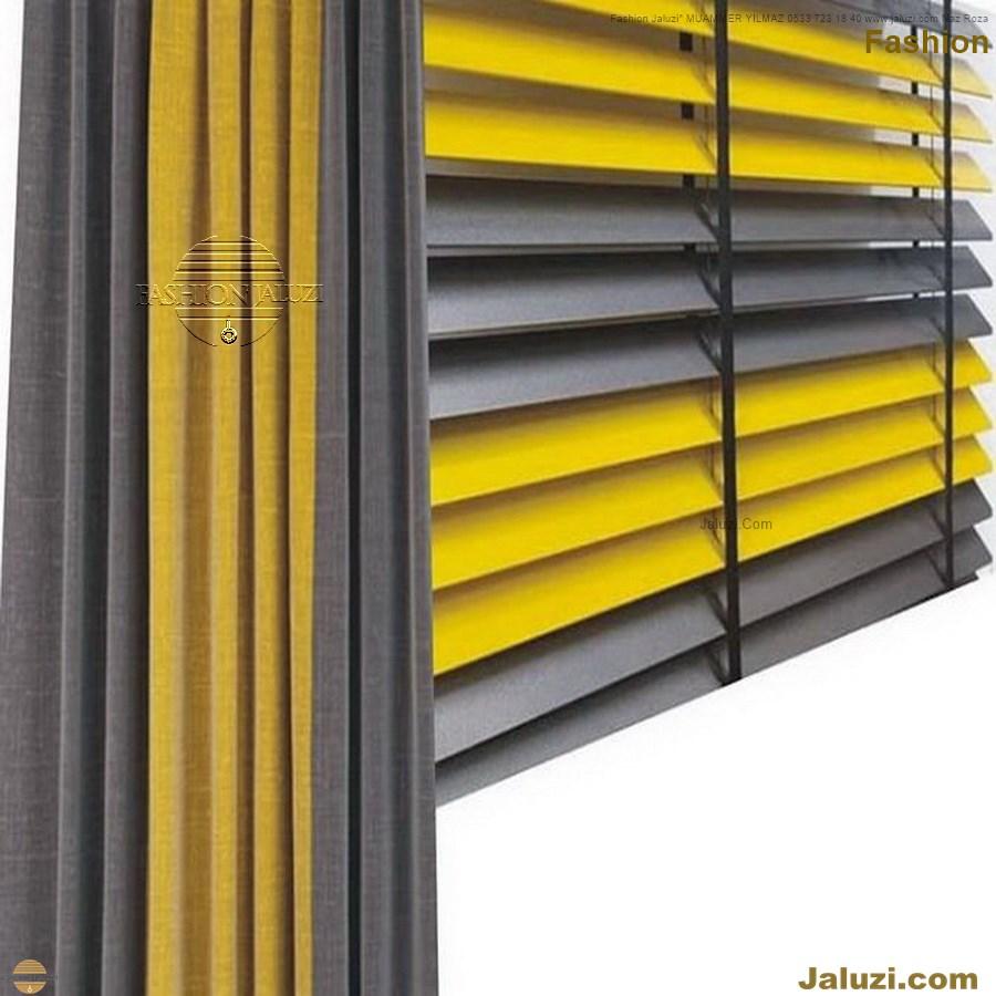 ahşap jaluzi fon perde modelleri ahşap jaluzi modelleri ev ofis kumaş perde tül jaluzi kenar süs perde wood blinds turkey (67)
