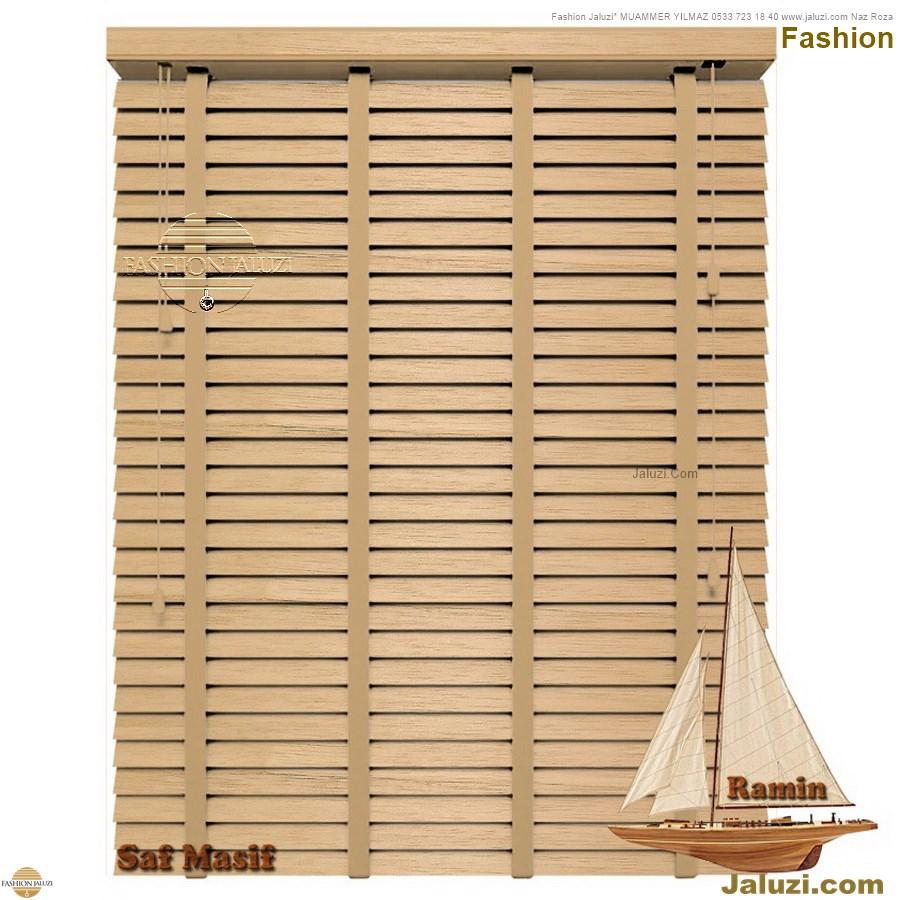 ahşap jaluzi fon perde modelleri ahşap jaluzi modelleri ev ofis kumaş perde tül jaluzi kenar süs perde wood blinds turkey (7)