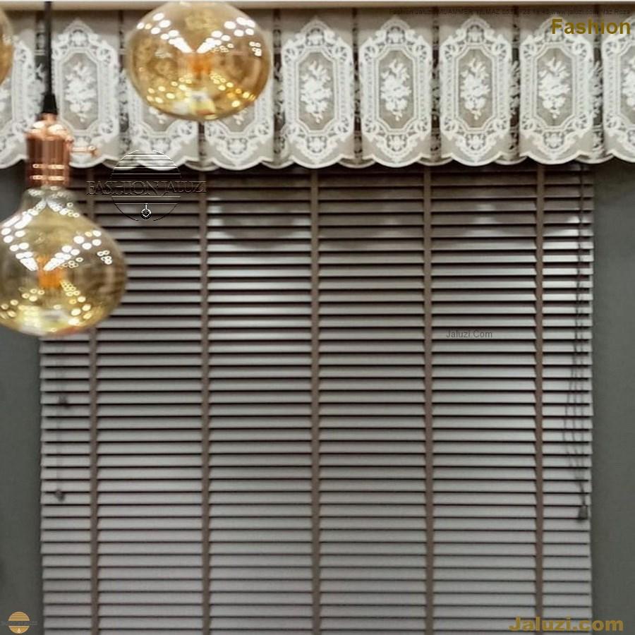 ahşap jaluzi fon perde modelleri ahşap jaluzi modelleri ev ofis kumaş perde tül jaluzi kenar süs perde wood blinds turkey (79)