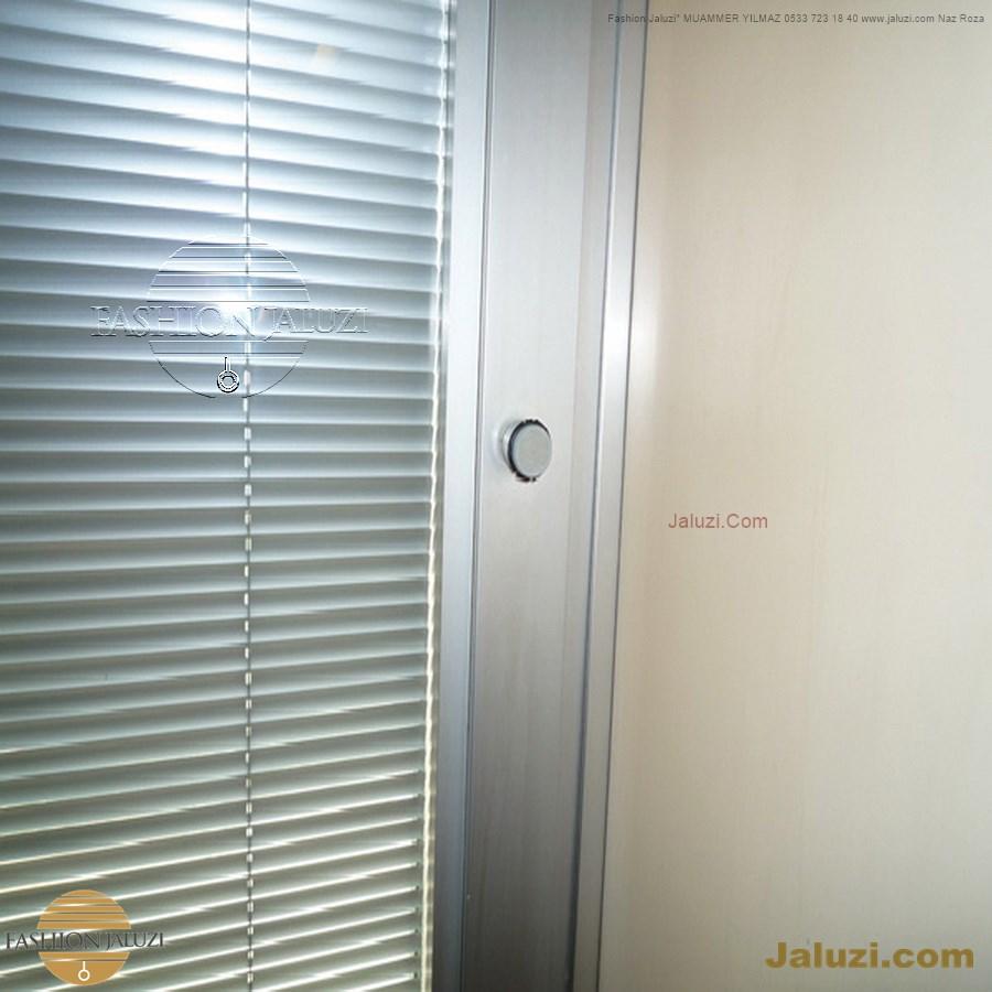 butonlu jaluzi perde buton düğmeli iki cam arası ısıcam ofis bölme perdesi ahşap 25mm 35mm 50 mm bölme motor motorlu ipli zincirli metal alüminyum jaluzi button system cam içi (1)