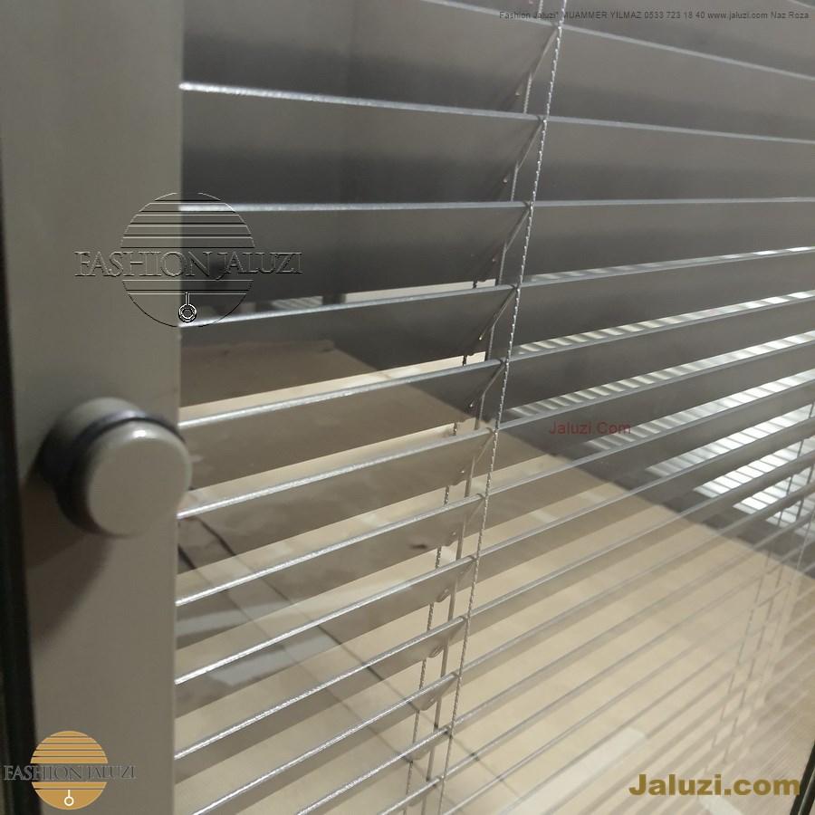 butonlu jaluzi perde buton düğmeli iki cam arası ısıcam ofis bölme perdesi ahşap 25mm 35mm 50 mm bölme motor motorlu ipli zincirli metal alüminyum jaluzi button system cam içi (20)