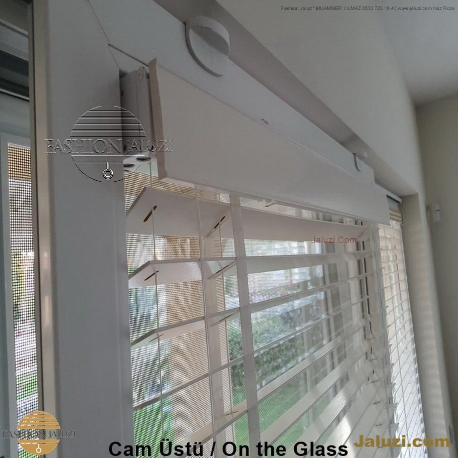 cam üstü jaluzi perde pencere pimapen üstünde üzerine sabitli ipli zıgıl zıgıllı zigil ipli zincirli düğmeli motorlu 25mm 50mm ahşap metal alüminyum jaluzi pvc pencere (14)