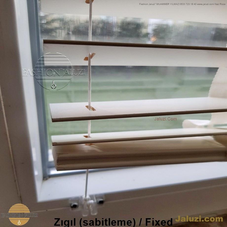 cam üstü jaluzi perde pencere pimapen üstünde üzerine sabitli ipli zıgıl zıgıllı zigil ipli zincirli düğmeli motorlu 25mm 50mm ahşap metal alüminyum jaluzi pvc pencere (35)
