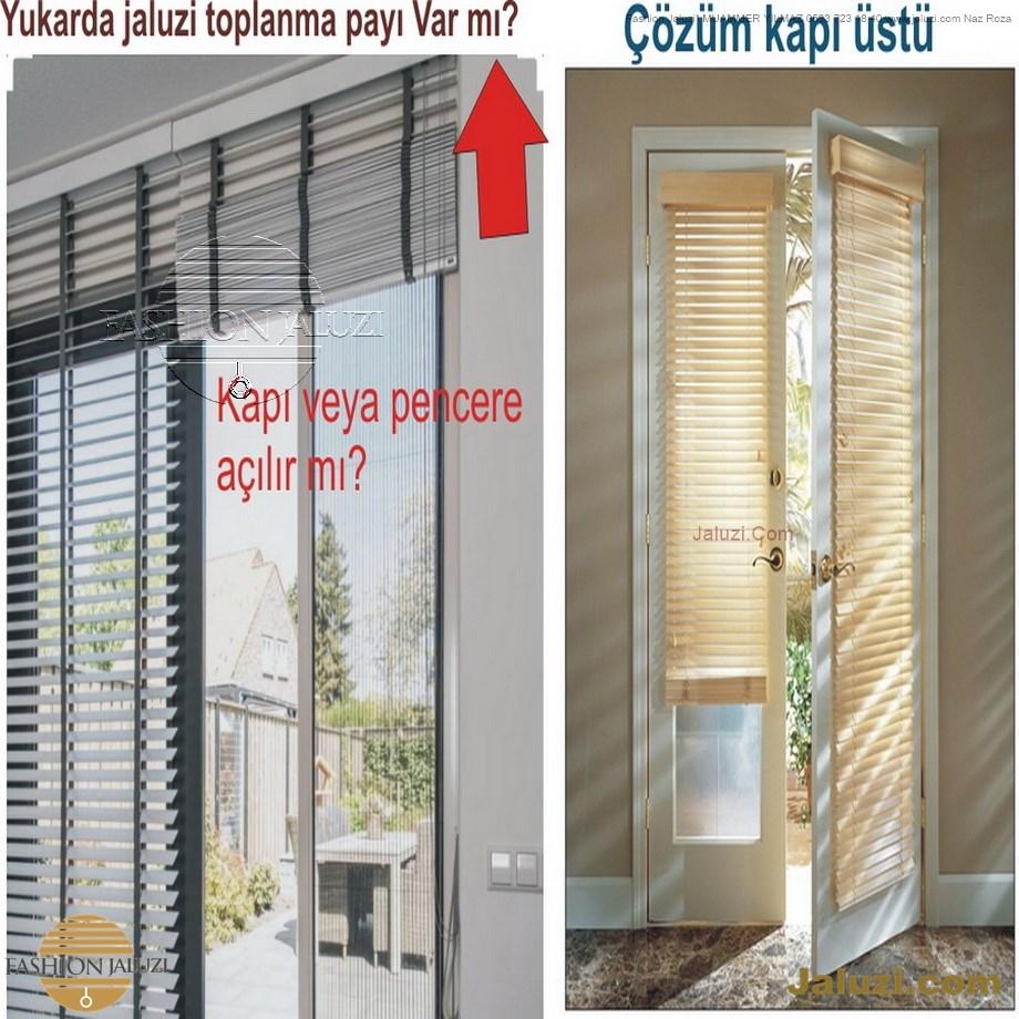 cam üstü jaluzi perde pencere pimapen üstünde üzerine sabitli ipli zıgıl zıgıllı zigil ipli zincirli düğmeli motorlu 25mm 50mm ahşap metal alüminyum jaluzi pvc pencere (58)