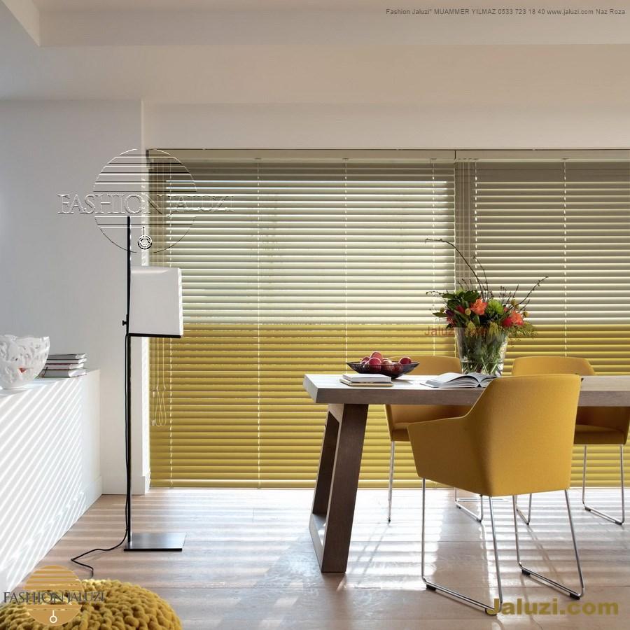 cam üstü jaluzi perde pencere pimapen üstünde üzerine sabitli ipli zıgıl zıgıllı zigil ipli zincirli düğmeli motorlu 25mm 50mm ahşap metal alüminyum jaluzi pvc pencere (63)