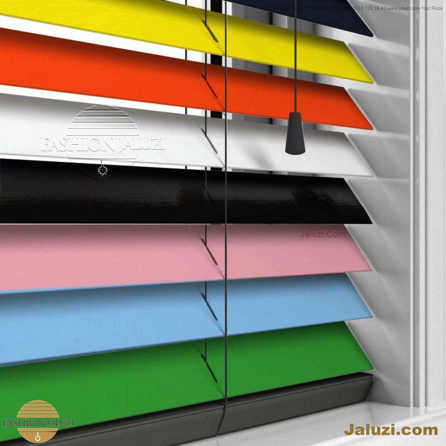 cam üstü jaluzi perde pencere pimapen üstünde üzerine sabitli ipli zıgıl zıgıllı zigil ipli zincirli düğmeli motorlu 25mm 50mm ahşap metal alüminyum jaluzi pvc pencere (67)