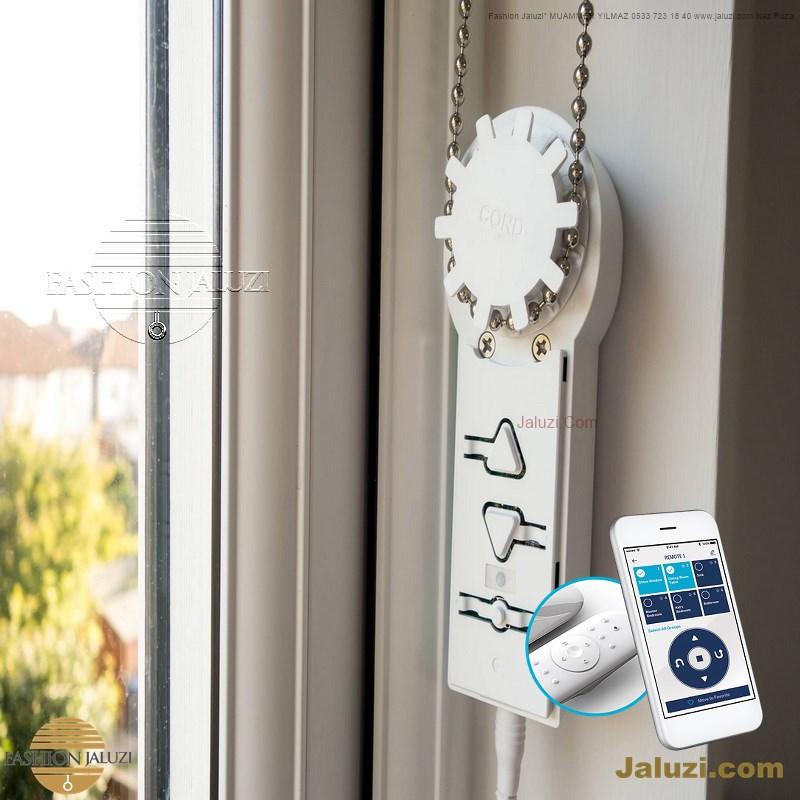 redüktörlü zincirli ahşap jaluzi perde jumbo ölçü büyük zincirli istem jaluzi perde buton chain operated wood blinds Turkey motorlu demirzincirli (13)
