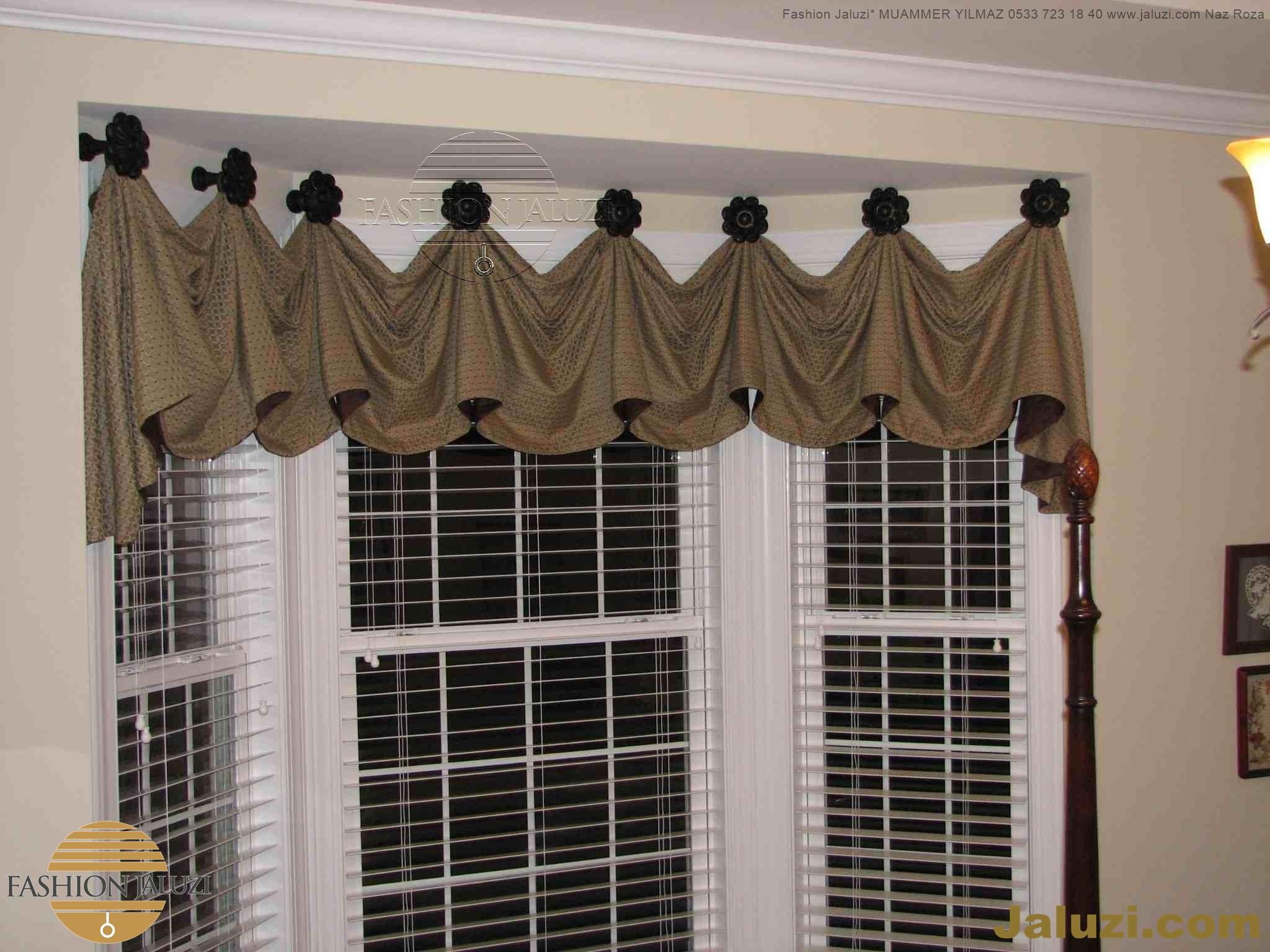 drape perde kumaş perde ahşap jaluzi perde kanat yan kenar perdeler italyan drape tül fon saten kadife süsleme (25)