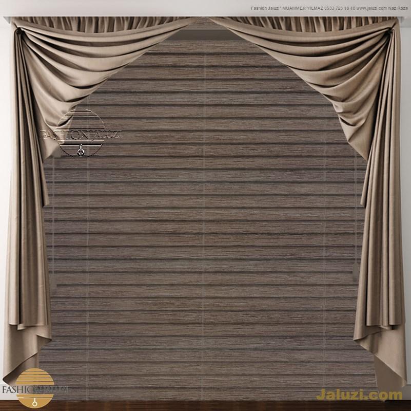 drape perde kumaş perde ahşap jaluzi perde kanat yan kenar perdeler italyan drape tül fon saten kadife süsleme (29)