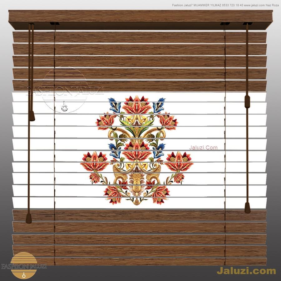 perde ahşap jaluzi perde fon perde panel perde klasik modern tarz kanat perde dekorasyonu wood blinds with valances drapery_04