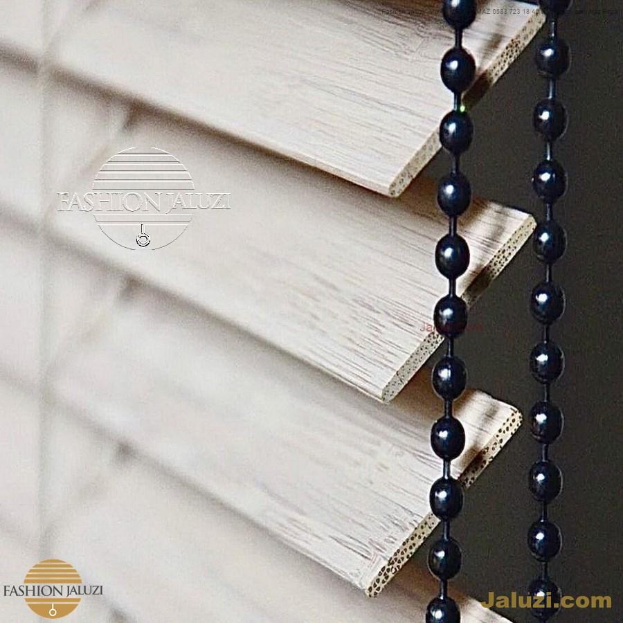 perde ahşap jaluzi perde fon perde panel perde klasik modern tarz kanat perde dekorasyonu wood blinds with valances drapery_10