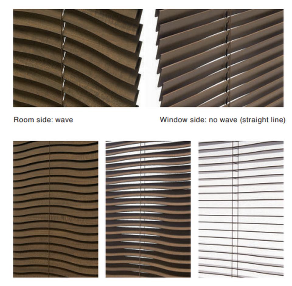 dalgalı lazer kesim ahşap jaluzi wave jaluzi s jaluzi kampeks eğimli salga jaluzi wave wood blinds venetian wood s shaped cut designed dalgali se jaluzi (00b)